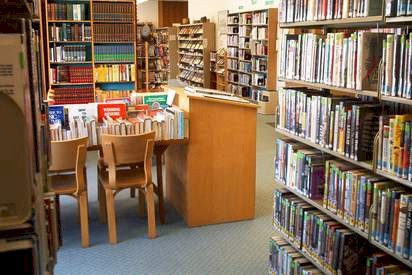Millinocket Memorial Library | Upstairs