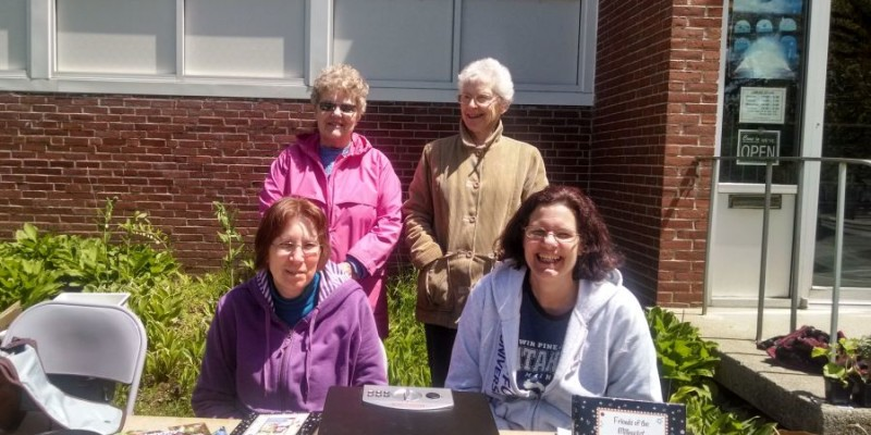 Friends of Millinocket Memorial Library play a very active role in providing financial assistance through ongoing bake and book sales, raffles and providing community activities.