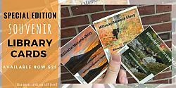 Special Edition Millinocket Memorial Library Cards