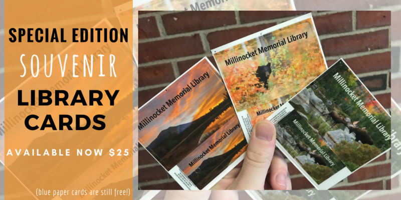 Special Edition Novelty Library Cards