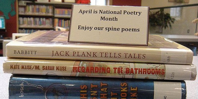 National Poetry Month at Millinocket Memorial Library