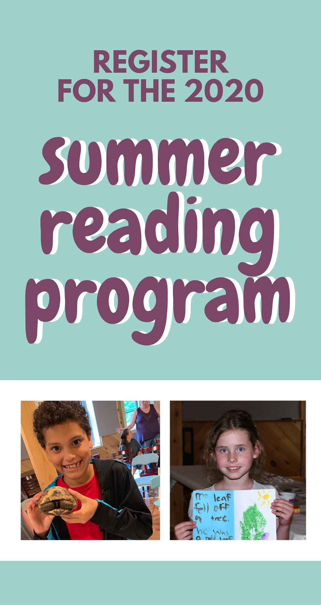 Join our Summer Reading Program